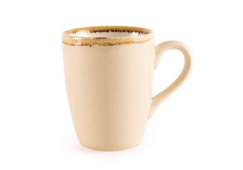 Olympia Sandstone porcelain mugs 34cl (6 pieces)