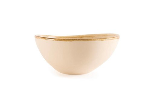 Olympia Sandstone porcelain dishes 21.5cm (4 pieces)
