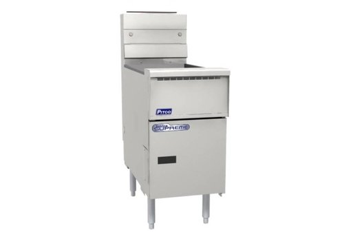 Pitco Friteuse Gas Solid State Solstice Supreme SSH55