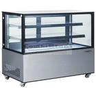 HorecaTraders Glass Counter display case | 152 x 68 x 122 cm
