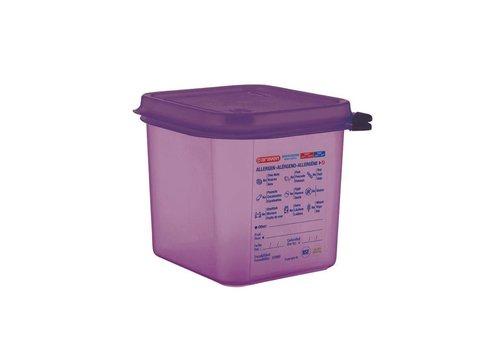 Araven Allergene Lebensmittelbehälter 4 Formate