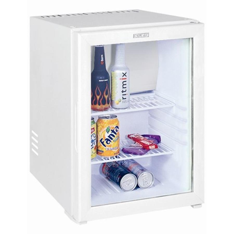 Horecatraders Minibar White Small Refrigerator And Glass Door