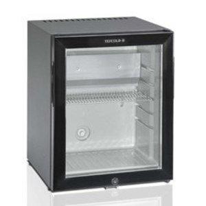 HorecaTraders Small Refrigerator With A Glass Door 31 Liters