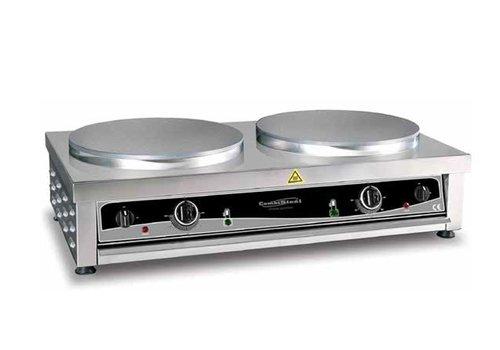Combisteel Crepe maker 2 plates