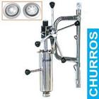 Diamond Churros Maschine mit Spender und Wandhalterungen