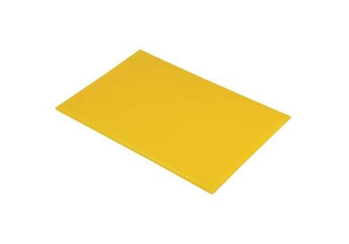 HorecaTraders Horeca Snijplank  kunststof | 60 x 40 x 2 cm | 6 Kleuren