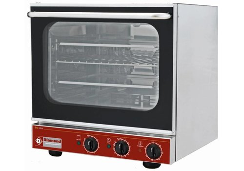 Diamond Convection oven for 4x43x33 cm