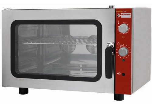 Diamond Convection oven with steam function 4x60x40 cm