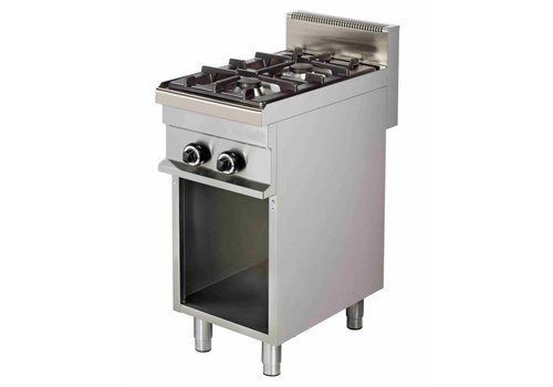Combisteel Stove with Substructure | 2 Burners