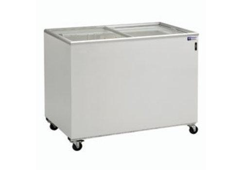 Diamond Freezer with 2 glass sliding cover | 400 liter
