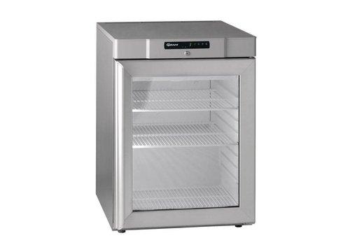 Gram Kompakte Kühlung mit Glastür 125 Liter