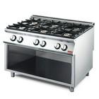 Gastro-M Stove with Storage | 6 Burners