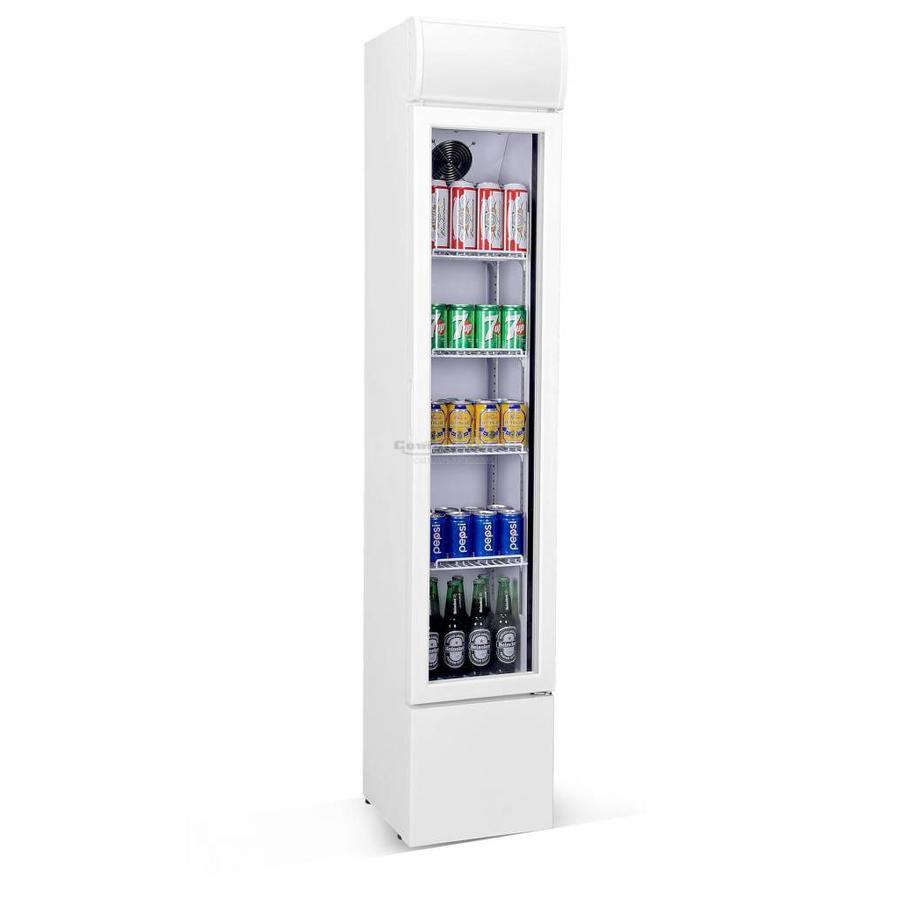 Koelkast met Glasdeur | 105 Liter