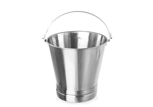 Hendi RVS Emmers 7 Liter | Zwaar Materiaal