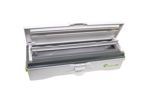 HorecaTraders Duo Backpapierspender   Aluminiumfolie Dispenser