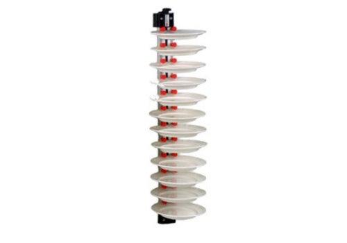 HorecaTraders Plate rack Wall mounted | 5 sizes