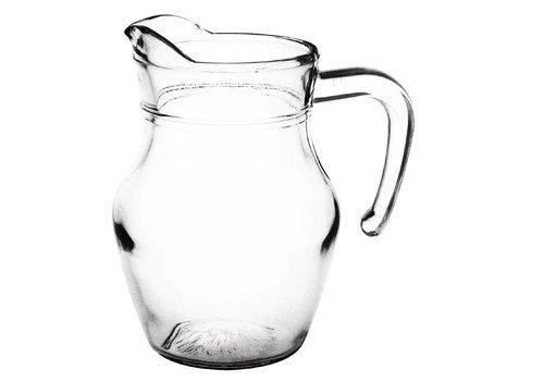 HorecaTraders Glaskaraffe 0,5 Liter (6 Stück)