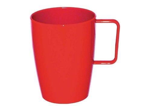 HorecaTraders Cup mit Griff   4 Farben - 28cl