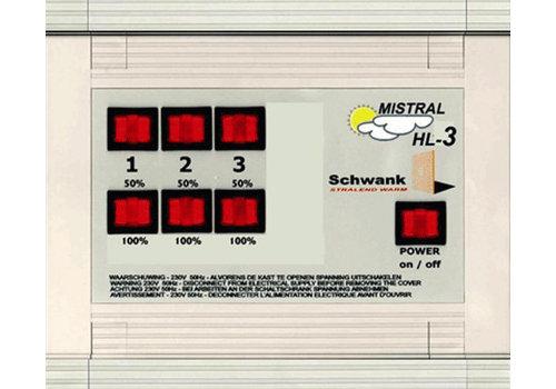 HorecaTraders Hoch / Niedrig / Aus-Schalter Box
