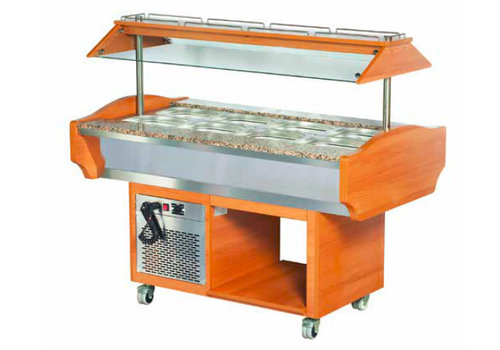 Combisteel Refrigerated salad bar island