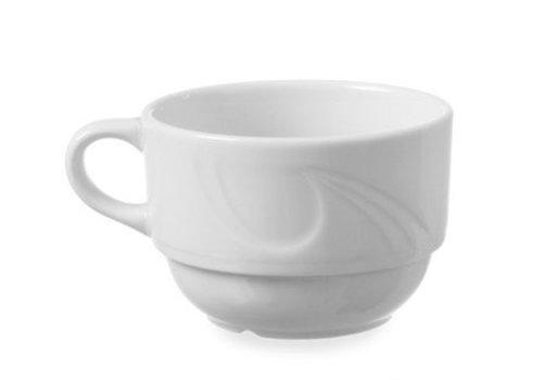 Hendi Porselein Espressokoppen | 9cl (6 stuks)
