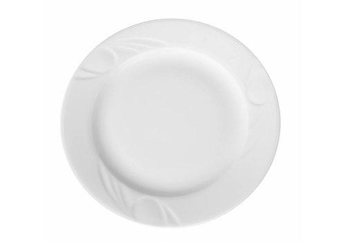 Hendi Hendi Porseleinen Borden wit | 28cm (6 stuks)