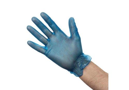 HorecaTraders Vinly Gloves Blue | 3 Sizes
