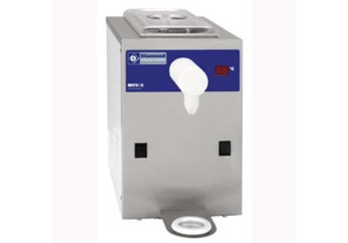 Diamond RVS Slagroommachine - 100 liter / uur - inhoud 2 liter
