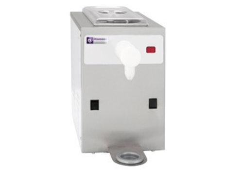 Diamond Slagroomautomaat 150 liter / uur - inhoud 5 liter