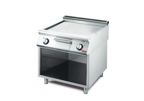 Gastro-M Elektrische Gladde Bakplaat | 70(d)x80x85cm
