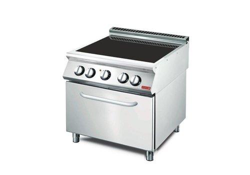Gastro-M Keramische kookplaat 10 kw | 80x70x85(h)