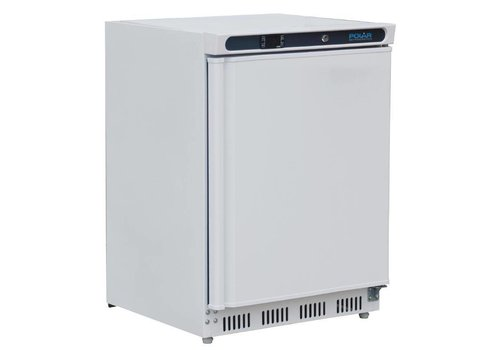 Polar Mini Fridge White with swing door Digital display 150 liters