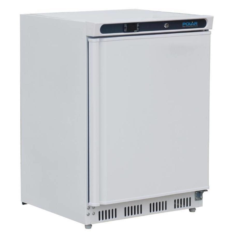 Mini Kühlschrank Weiß mit Schwingtüren   150 Liter