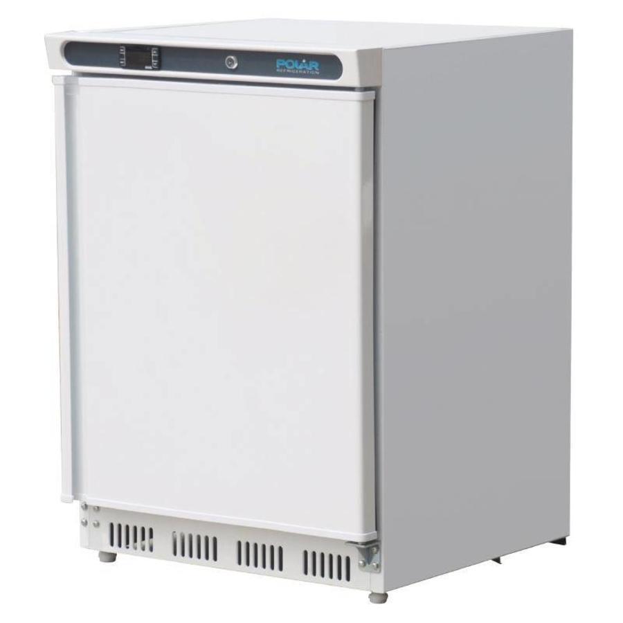 Mini Kühlschrank Weiß mit Schwingtüren | 150 Liter