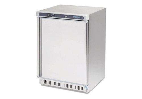 Polar Stainless Steel Freezer   140 liters