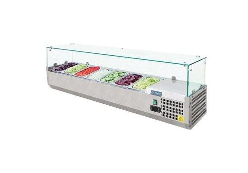 Polar Set-up refrigerator vitrine   7xGN1 / 4