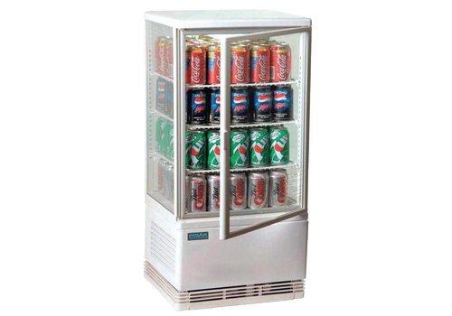 Polar Compact White Kühlschrank 69 Liter - VIEL FÜR KLEINES