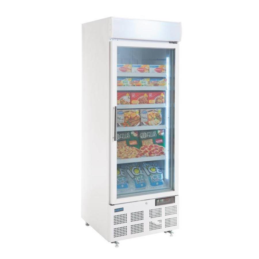 Polar Business Freezer With Glass Door Horecatraders Buy Online