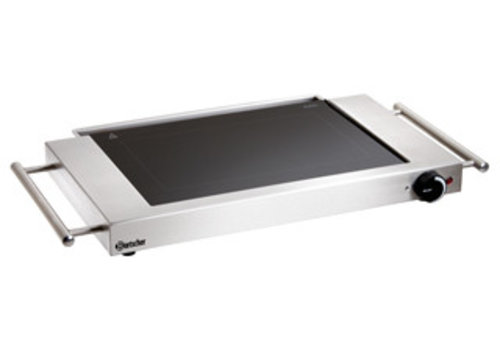 Bartscher Griddle Hob stainless steel | Slippery