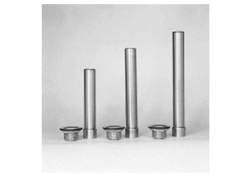 "HorecaTraders RVS standpijp en afvoerrooster 1""1/2 | H=230 mm"