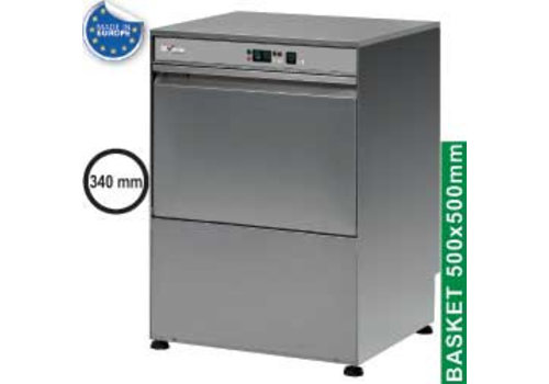 Diamond Double-walled stainless steel dishwasher 3kW