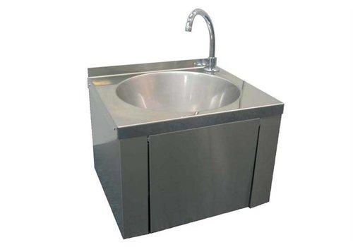 HorecaTraders Roest vast stalen handwasbakje