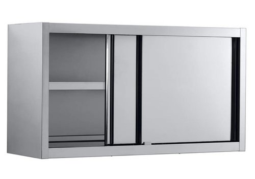 Combisteel Muurkast met schuifdeuren 200x40x65 cm (bxdxh)