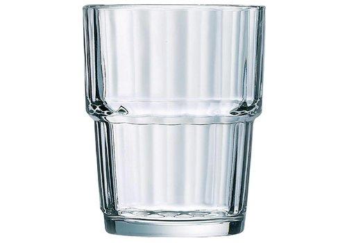 Arcoroc Norvege Drinking Glasses 20cl | 6 pieces