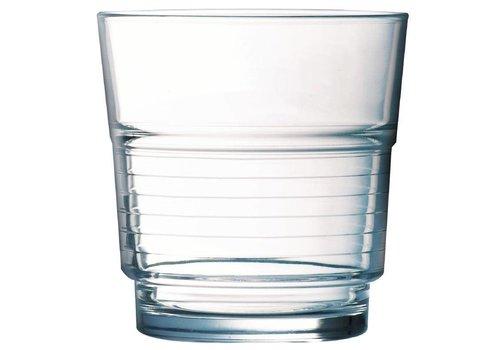 Arcoroc Drinkglazen Spiraalvormige 20cl | 6 stuks
