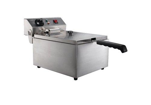 Combisteel Electric table fryer - 1 x 6 Liter