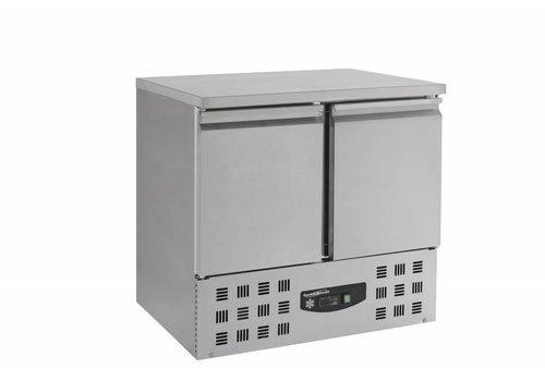 Combisteel Freeze Workbench 2 doors 94,3 x70x85, 5 cm (WxDxH) - TOP INSULATION