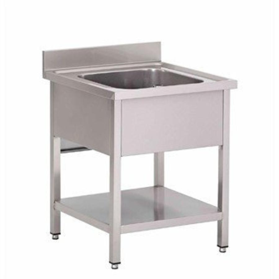 Sink drainer middle 70x70x90 cm (WxDxH) - HorecaTraders   Buy online ...