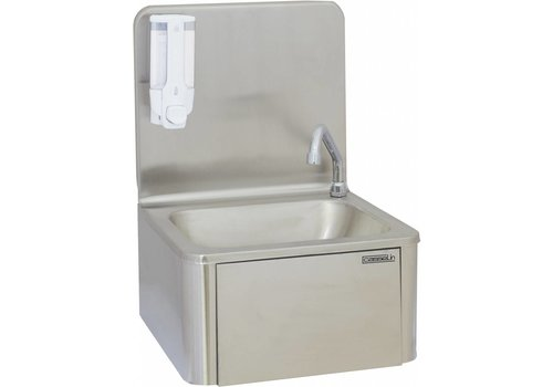 Casselin Stainless steel sink with knee operation