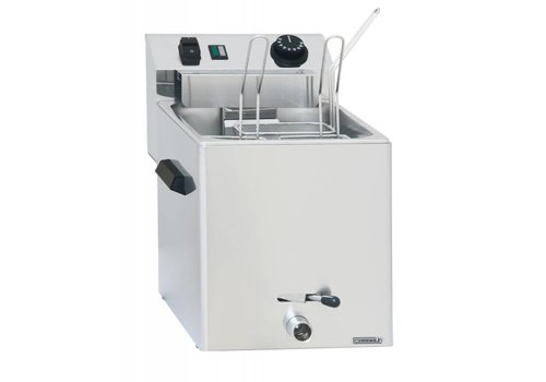 Casselin Electric pasta cooker with tap | three baskets